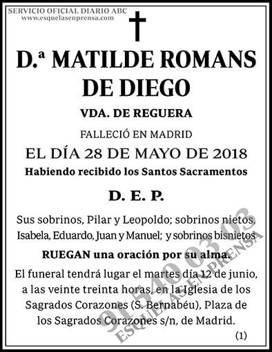 Matilde Romans de Diego
